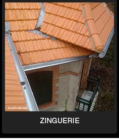 Zinguerie Zinc